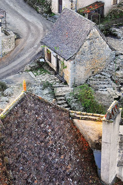 Saint Cirq Lapopie, France by Sigfrid Lopez