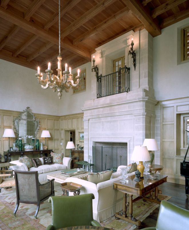 Tudor Great Room Curtis Windham Architects Dering