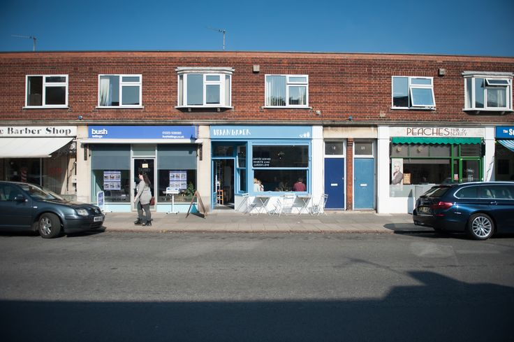 Urban Larder.  A cosy little coffee Shop on Mill Road, Cambridge