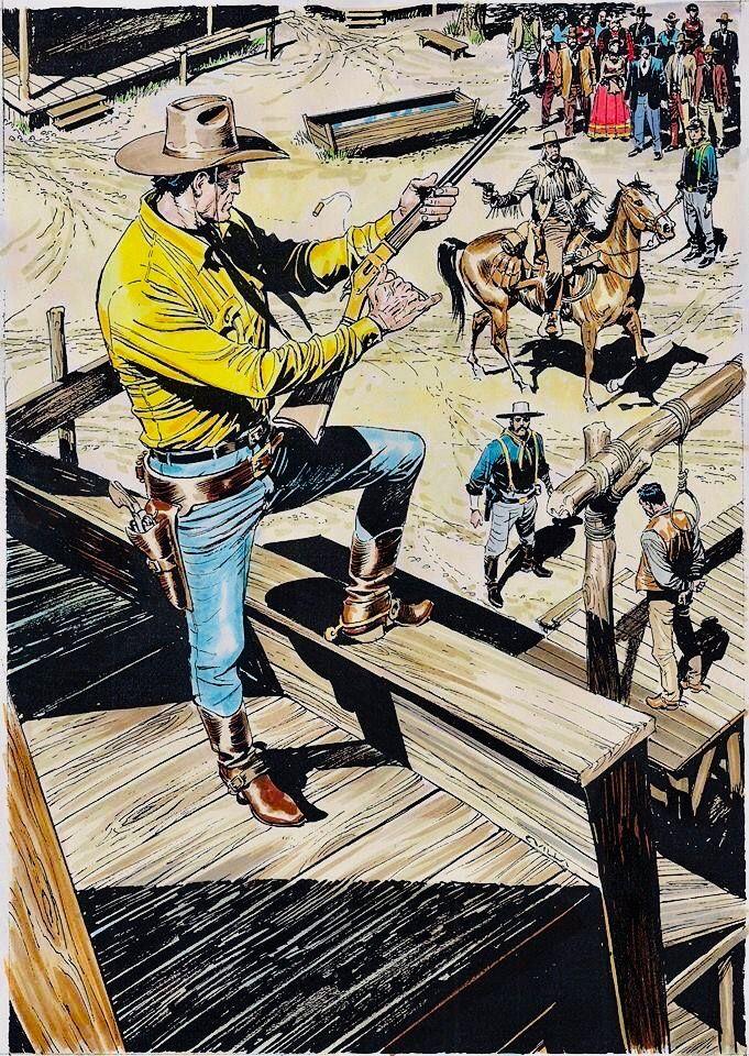 Tex Willer Em 2020 Com Imagens Arte Sertaneja Velho Oeste