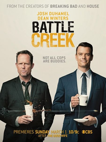 Battle Creek TV Show #SérieTV. Mr. Sexy and Mr. Mayhem in a show created by those guys? Heck yeah!