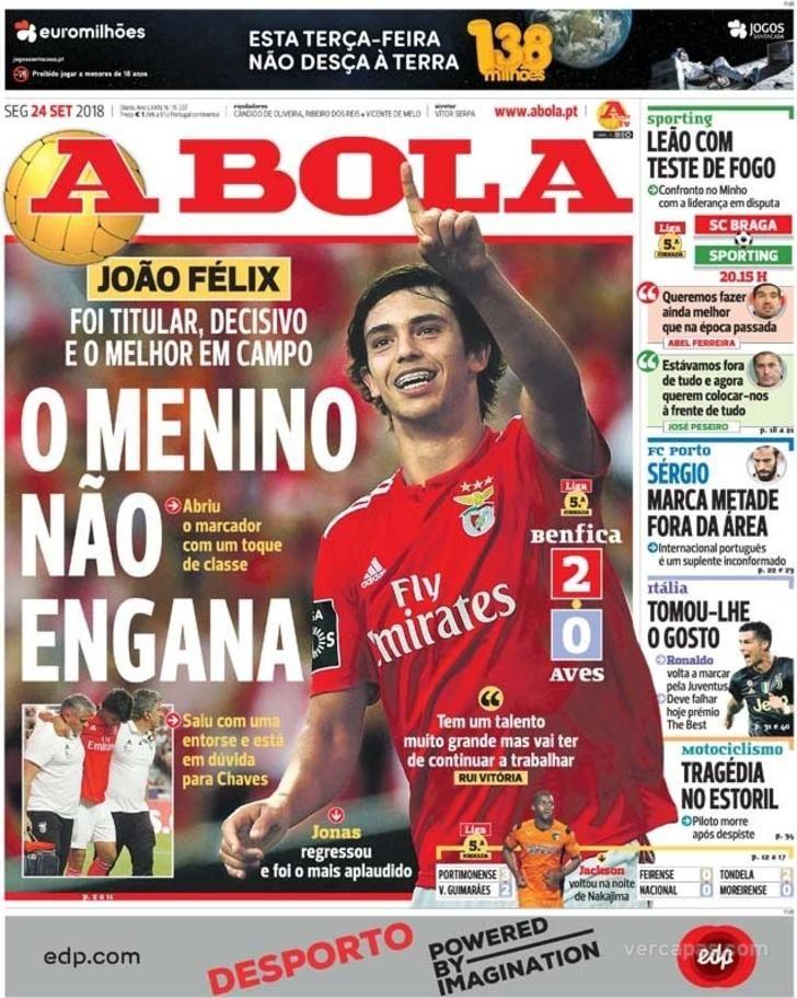 A Bola Benfica Campeao Sport Lisboa E Benfica Felix