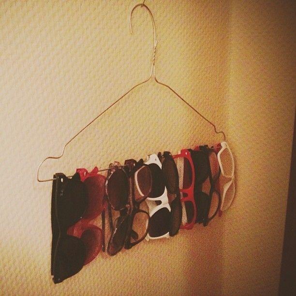Organize your sunglasses wardrobe