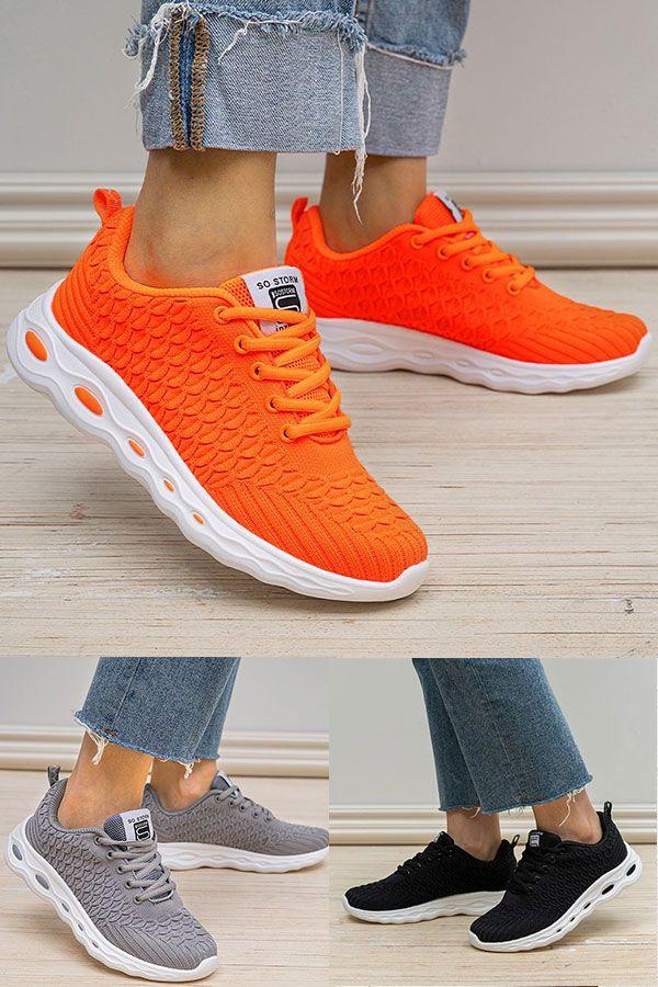 Damen Im Freien Casual Schnurung Flache Sneakers In 2020 Turnschuhe Nike Frauenschuhe Damen