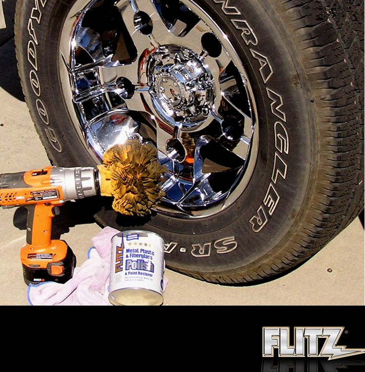 Get a professional detail from home with the Flitz Buff
