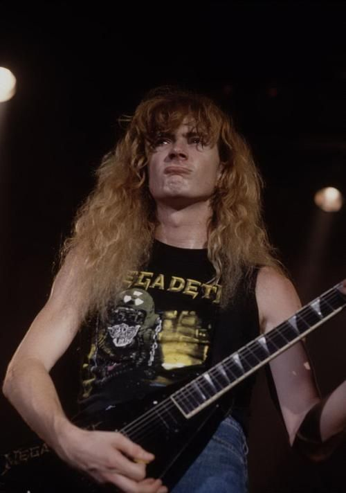 Dave Mustaine 90s
