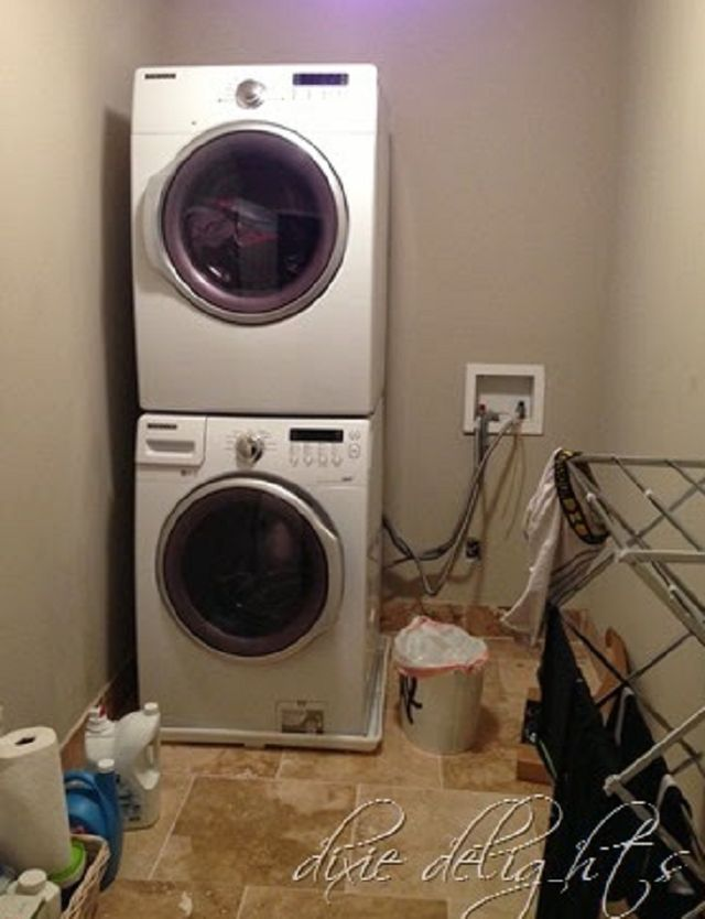 Create Fabulous Style in a Small Laundry Room: Think Vertical In the Laundry Room
