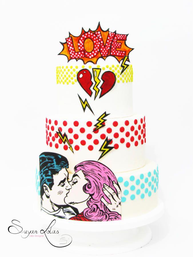 POP ART cake by Suyan Lolas