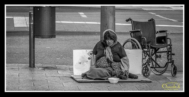 Obdachlos: Armut trotz boomender Wirtschaft
