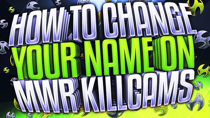 How to Change your name on MWR https://youtu.be/FosYOIvN7a8
