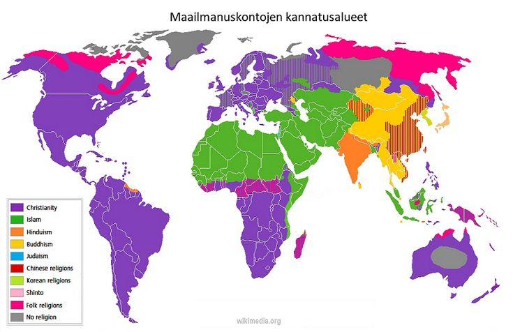 UE4 Uskontojen maailmat - maailmanuskonnot (kurssitiivistelmä)