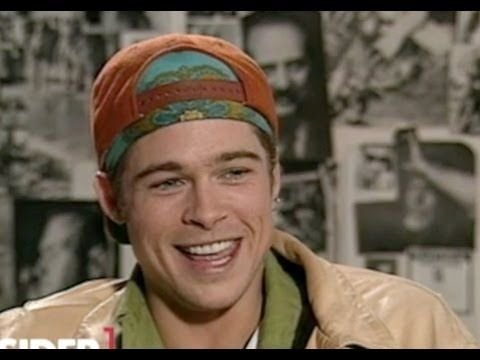 26-year-old Brad Pitt (Interview 1990) - YouTube