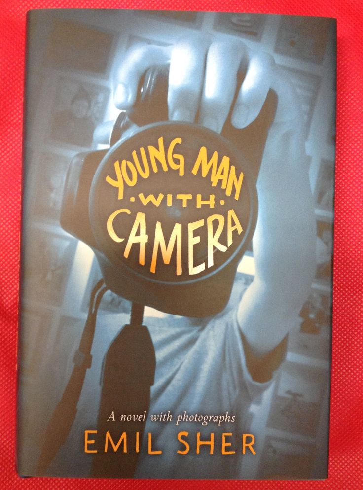 Young Man with Camera, Emil Sher. This is what T--- does with his camera: he makes the world larger, deeper, more beautiful & complex. Against this, the evil he confronts can only make the world smaller & uglier. And Young Man with Camera does the same; it reminds us that Art always confronts, & sometimes confounds, Darkness. This is a novel about the beauty that lies within, the darkness that comes from without, & the grace & nobility of a boy who sees through his lens.