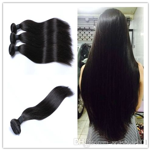 2016 brazilian hair human hair weft brazilian hair bundles unprocessed peruvian indian malaysian cambodian straight hair extensions 8a from seashine001 can help your hairs look thicker. remy weave are made of human hairs. Using remy hair weaves and virgin remy hair weave can make you feel more confident.