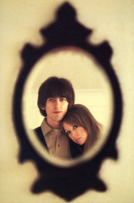 George Harrison and Pattie Boyd, or better know as LAYLA for you music fans...