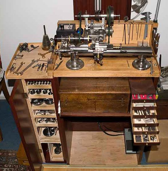 Hobby Lathe Homemade Watchmakers Lathes