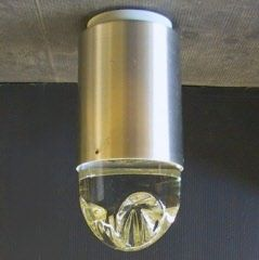 Raak cylinder ceiling with chrystal glass PL1183