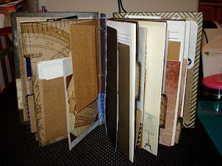 Homemade junk journal...I can't stop reading this page!! I want to make one now!