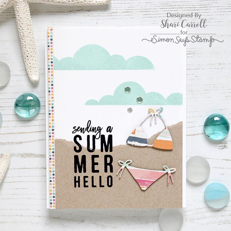 Shari Carroll, Simon Says Stamp Hello Summer Card Kit!