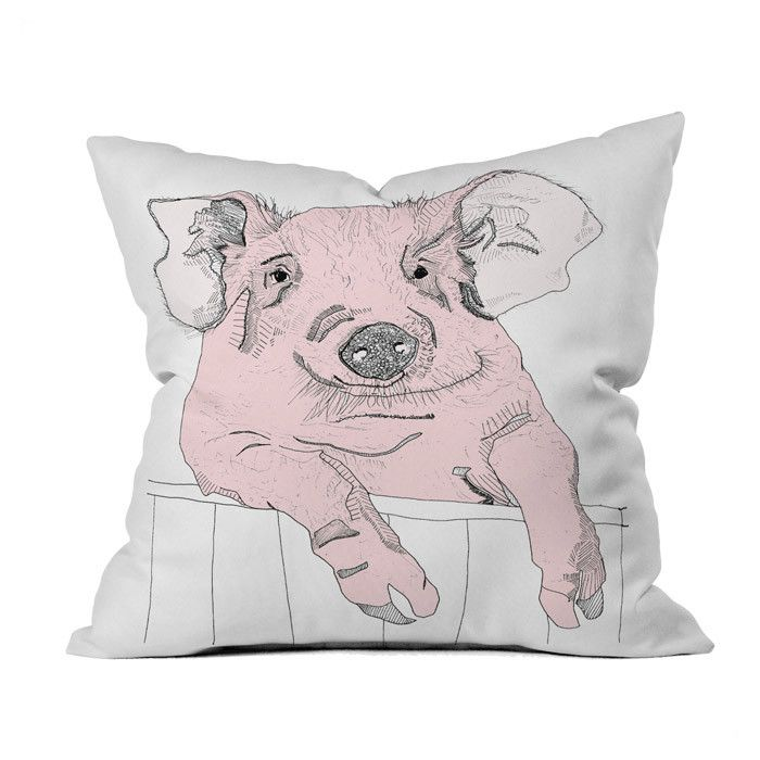 Cute Piggy Pillow.