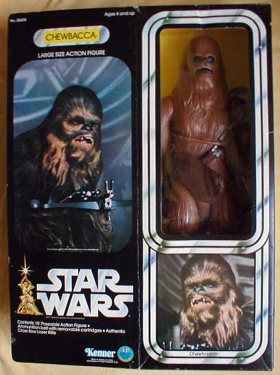 Kenner Star Wars Large Size Action Figure - Chewbacca