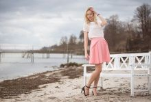 S/S 2015 Skirt in cotton and blouse in silk  www.juliejespersen.com