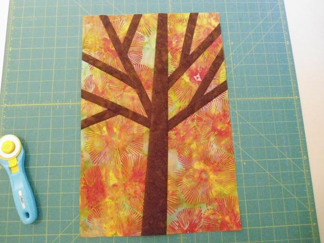 I thought I would show you how I made my free pieced trees. This is a super heavy picture post, but if you want to make one it will show ...