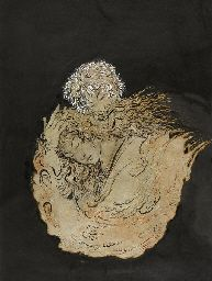 HOSSEIN BEHZAD (IRANIAN, 1894-1964) Dreaming of the Beloved