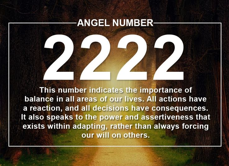 Learn the meanings and significance of Angel Number 2222 ...
