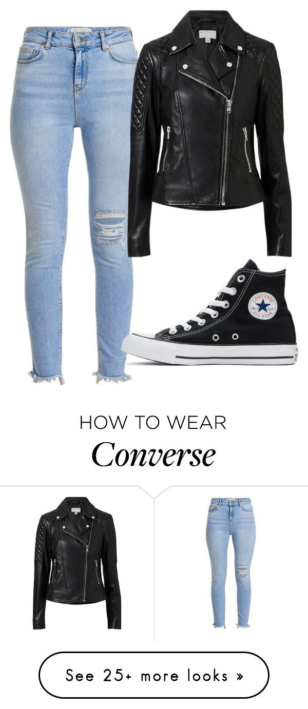 """Untitled #32"" by michelle-589 on Polyvore featuring Witchery and Converse"