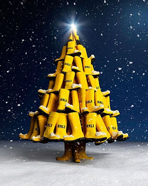 Yellow Christmas Tree