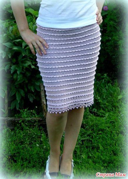 Теперь у меня есть юбка крючком. Продолжаю себя баловать - Вязание - Страна Мам