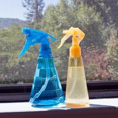 DIY Window Screen Cleaner Spray For the Best Windows Ever: If you have a house filled with windows, getting them clean is a whole-day cleaning activity.