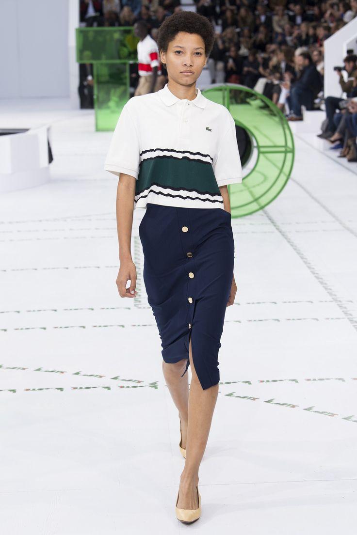 Lacoste Spring 2018 Ready-to-Wear  Fashion Show - Lineisy Montero (Next)