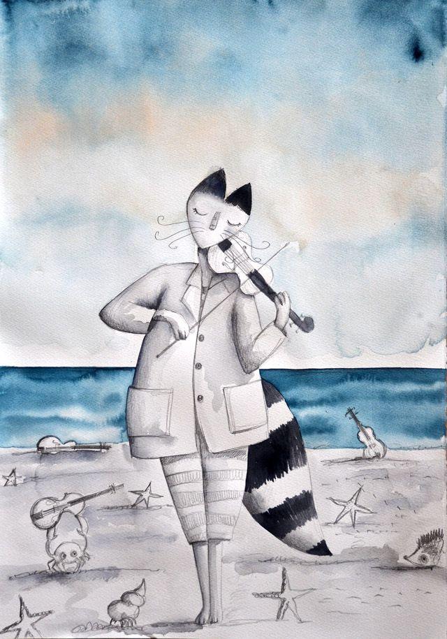 cala violina signor fox