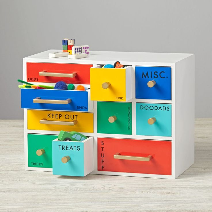 Keep your kids' desk clean and organized with our colorful and unique kids desk accessories and desk organizers.