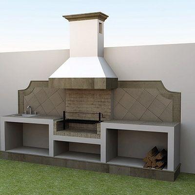 Resultado de imagen para quinchos peque os para asados for Asador en patio pequeno
