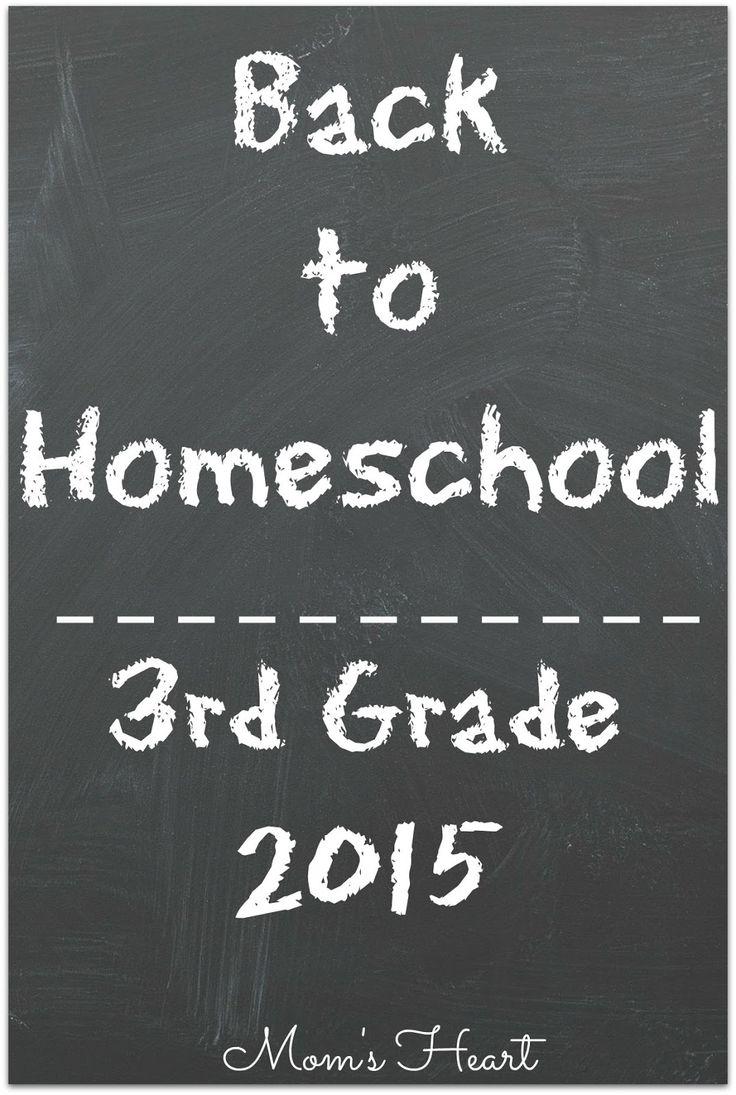 3rd Grade Homeschool Curriculum Plans