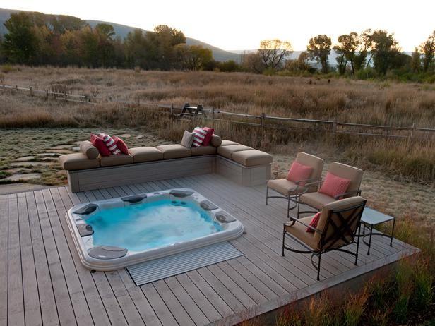 2012 HGTV Dream Home Hot Tub Deck