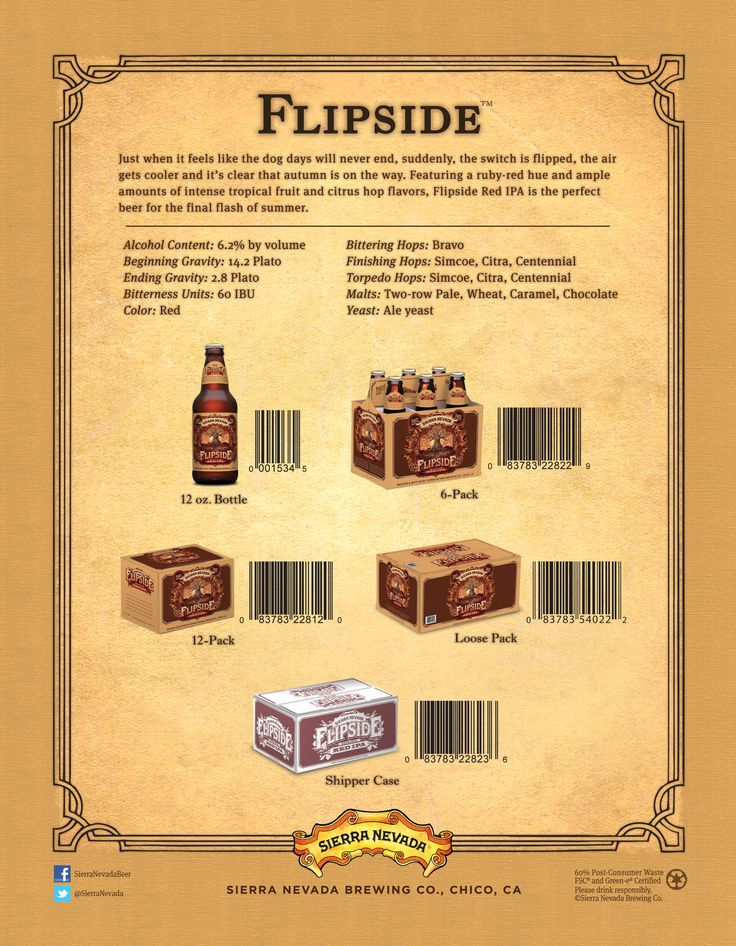 37 best Craft Beer Sell Sheets images on Pinterest Craft beer - sample sell sheet