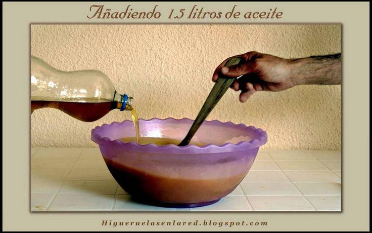 Higueruelas - Jabón casero :  FUENTE, http://www.labioguia.com/jabon-casero-con-aceite-usado/