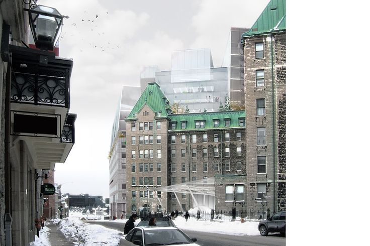 Dan Hanganu architectes - Centre Hospitalier Universitaire de Québec / Hôtel-Dieu