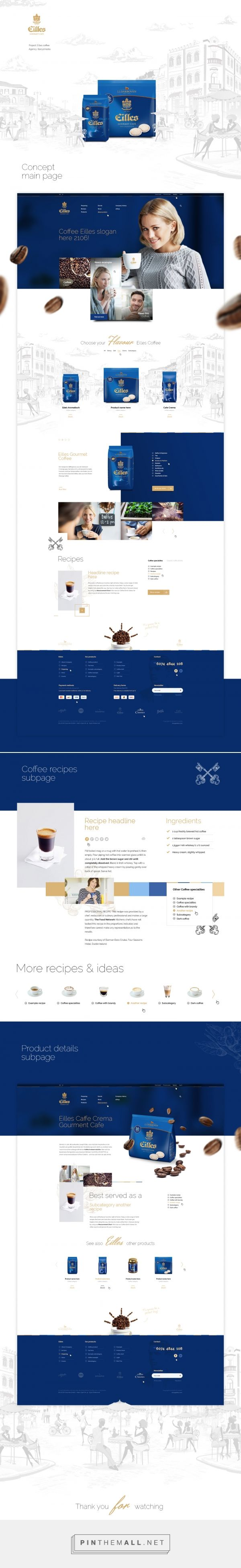 Eilles Coffee on Behance - created via https://pinthemall.net