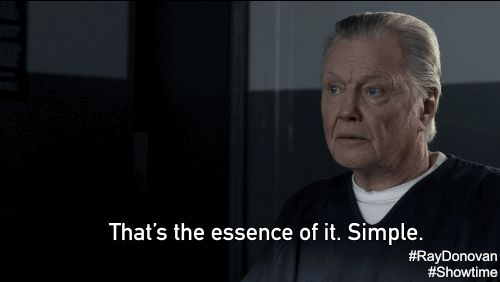 New trending GIF on Giphy. showtime ray donovan jon voight essence mickey donovan thats the essence of it. Follow Me CooliPhone6Case on Twitter Facebook Google Instagram LinkedIn Blogger Tumblr Youtube