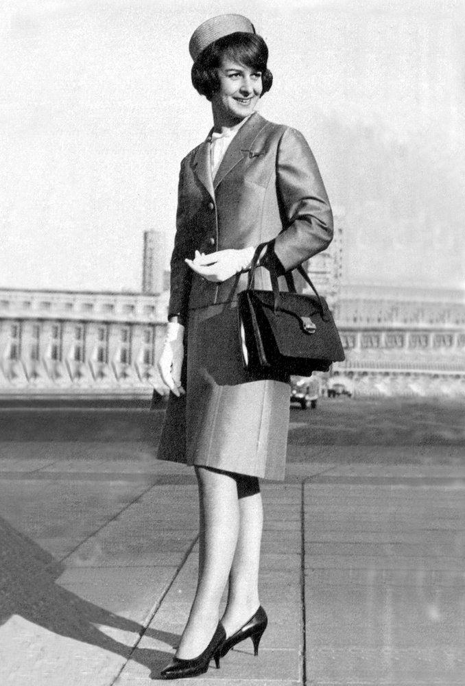 SAA new uniforms 1969 This is what I wore - Pam Mahon/Bird