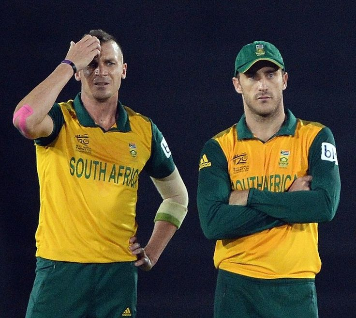 Dale Steyn and Faf du Plessis ran out of ideas, India v South Africa, World T20, semi-final, Mirpur, April 4, 2014