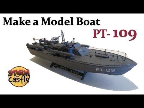 Make a Plastic Model PT 109  Torpedo Boat