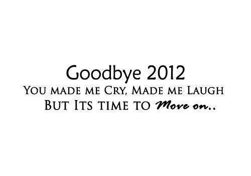 Happy New Year...let's move forward :)