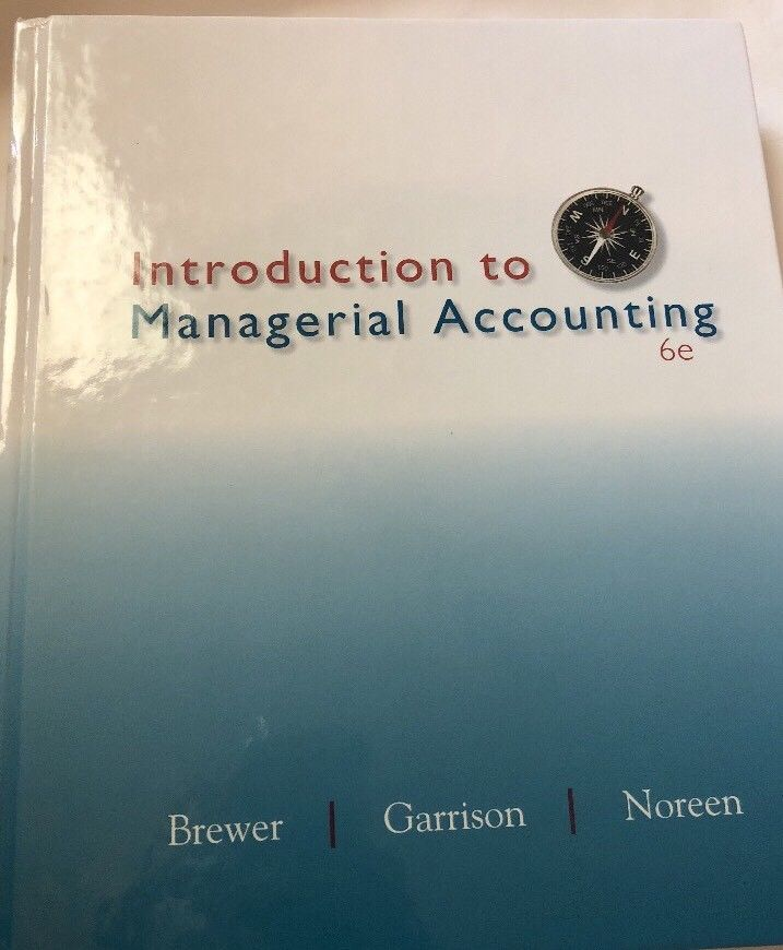 answers to ac505 managerial accounting final examine week 8 Please note the text in this file has been automatically extracted and may contain minor errors for the original version please consult the paper copy held in the.