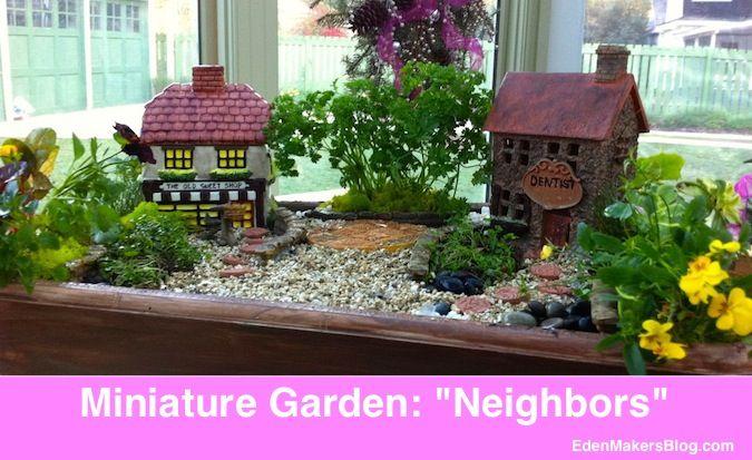 Miniature and Fairy Garden Design Ideas by Shirley Bovshow – fairy gardens